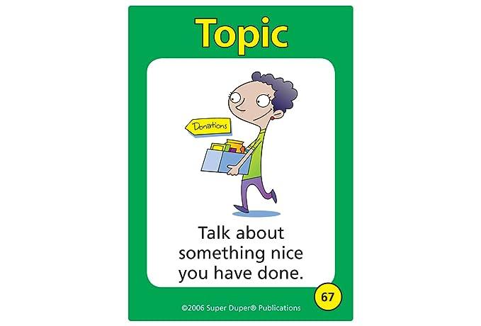 Amazon.com: topictalk Conversación Juego de cartas con cinco ...
