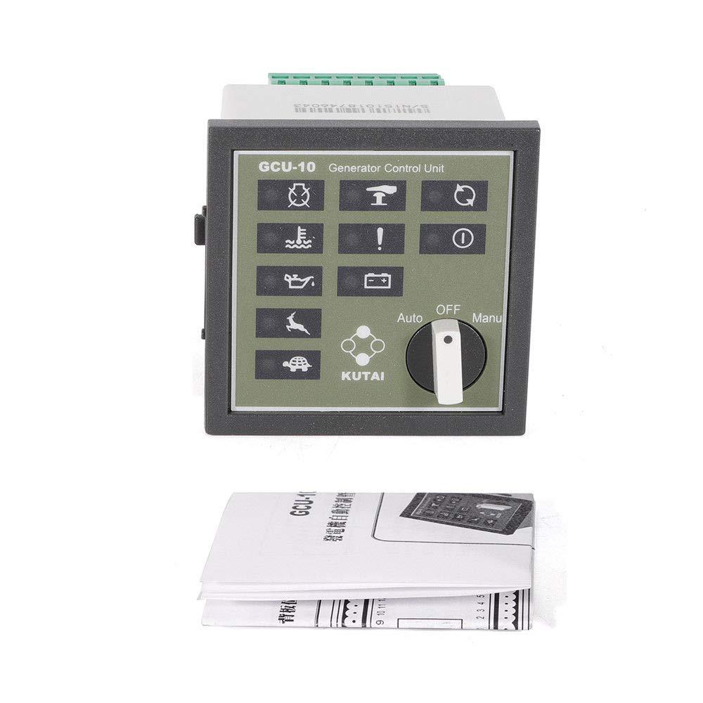 SHZICMY GCU-10 Automatic Generator Control, DC Supply Voltage 5-300Vac Unit Modular Design Genset Controller Unit Interface Controller