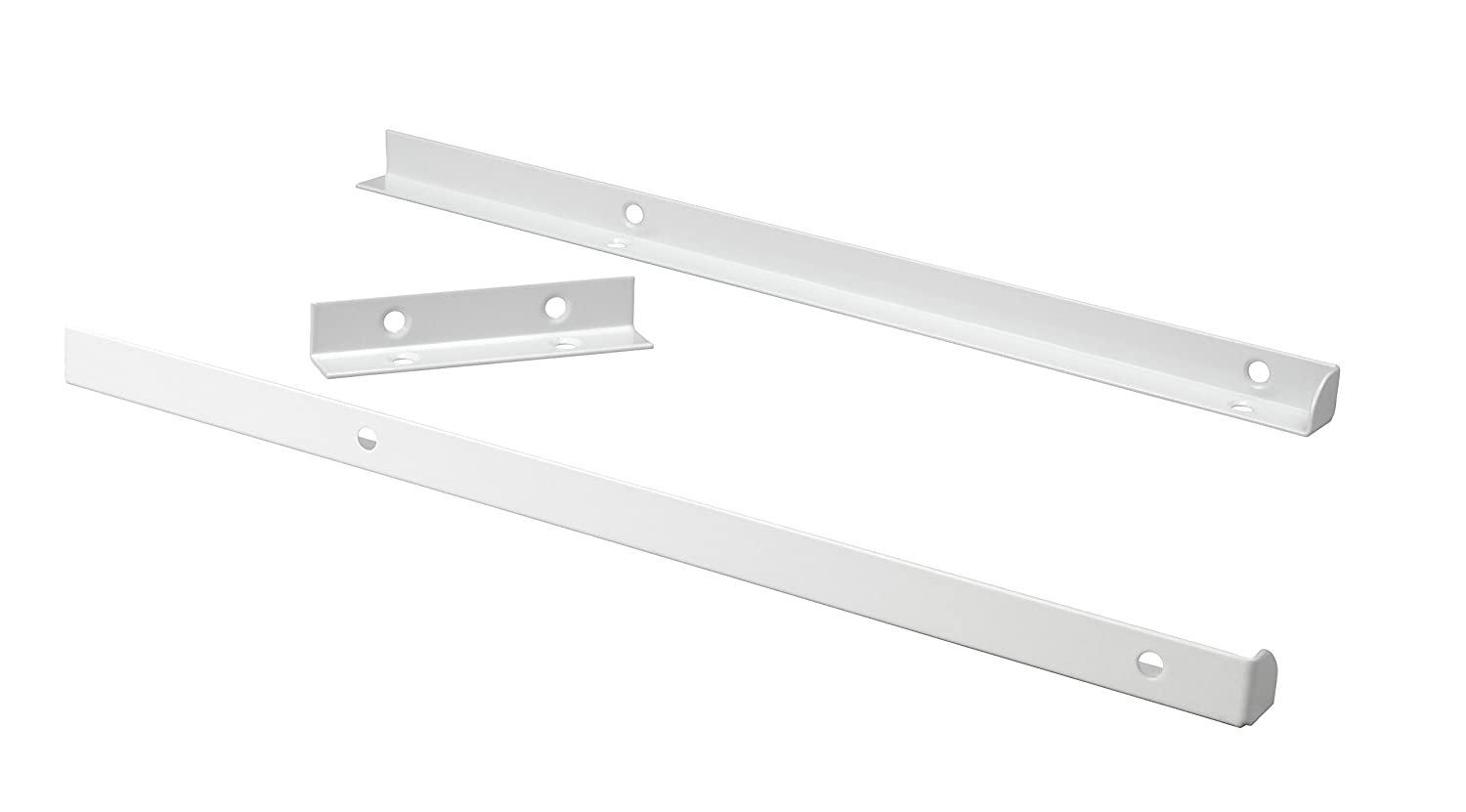 ClosetMaid 8892 SuiteSymphony Top Shelf Support Kit Nickel