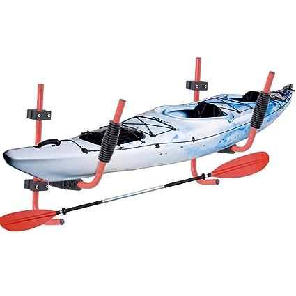 Amazon com: Nice1159 New 2 Pcs Steel Kayak Ladder Wall Mount