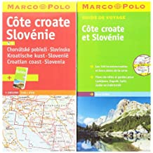 CARTE CÔTE CROATE & SLOVÉNIE + GUIDE