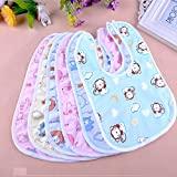 My NewBorn Baby Cotton Bibs (6 Pcs.FastDry)
