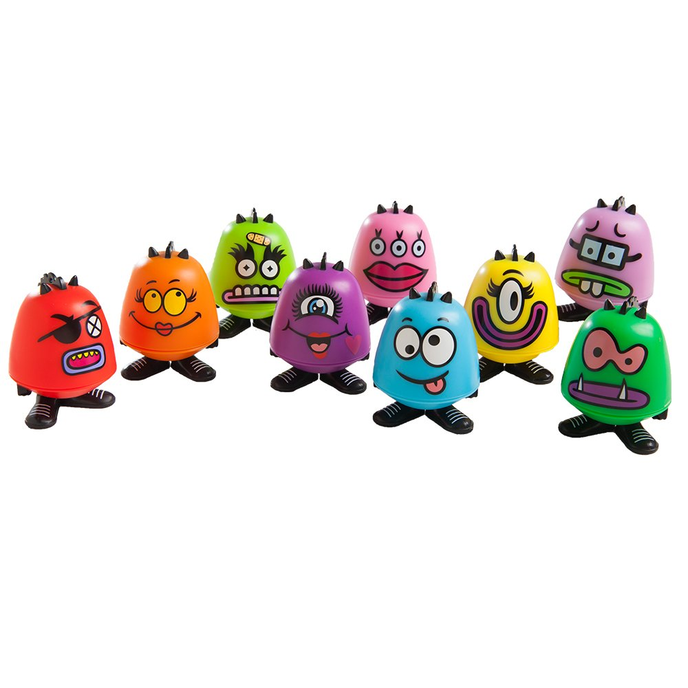 Goof Balms - Natural Kids Lip Balm + Moisturizing & Repair + Helps Prevent Cracked Lips + Strawberry Sorbet Chapstick + Party Favor Assortment + (9 Pack)