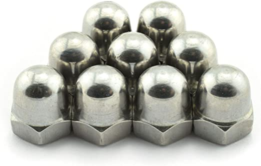 Tuerca de acero inoxidable 20 unidades FullerKreg M8-1.25 DIN 1587 A2