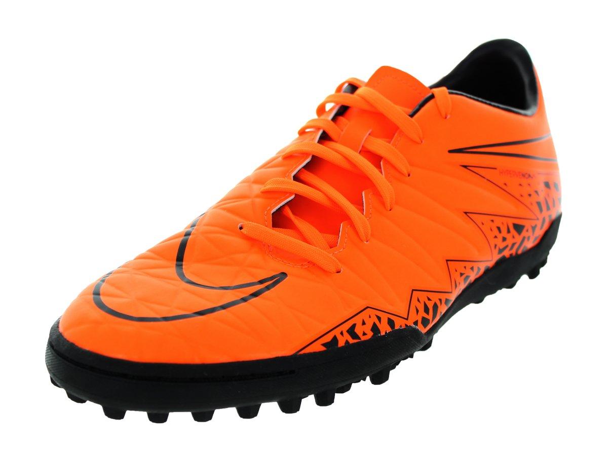 NIKE Men's Hypervenom Phelon II TF Turf Soccer Shoe B00Q3WNPRE 8 D(M) US|Total Orange/Black