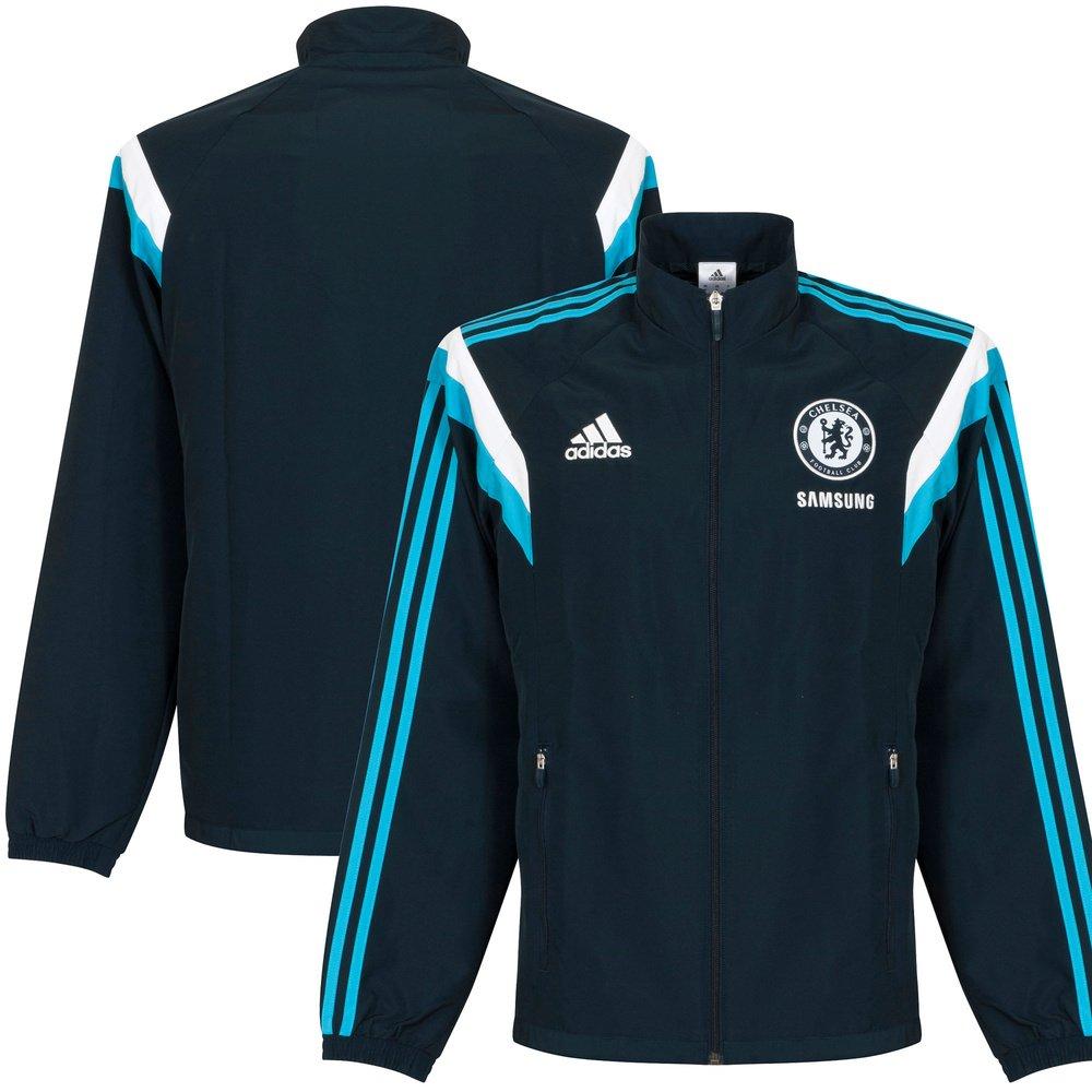 2014-15 Chelsea Adidas Presentation Jacket (Navy)