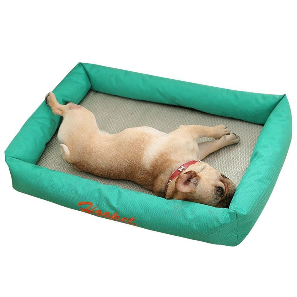 C 60x45x15cm C 60x45x15cm WUTOLUO Pet Bolster Dog Bed Comfort Pet Cushion Mattress Kennel Dog bed dog sofa mat mat removable nest (color   C, Size   60x45x15cm)