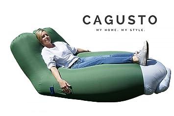 Air Sofa CAGUSTO® U0026bull; Grün U0026bull; Sitzkissen Aufblasbar Mit Rückenlehne  Verstellbar U0026bull;