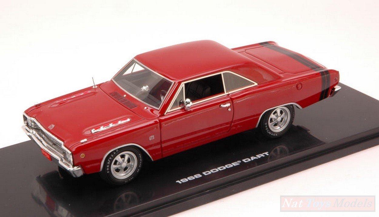 HIGHWAY 61 HGW43001 DODGE DART GTS 1968 CHARGER RED 1:43 MODELLINO DIE CAST