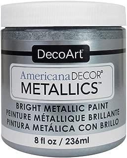 product image for DecoArt Ameri Deco MTLC Americana Decor Metallics 8oz Silver, 1