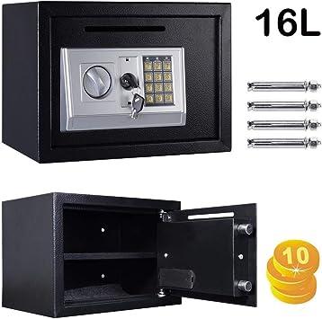Caja de Seguridad de 16 litros con código Digital para Llaves ...