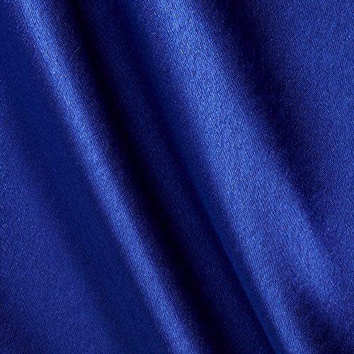 (Poly Crepeback Satin Royal Fabric By The Yard)