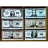 School Smart US Bills Play Money - Set of 320