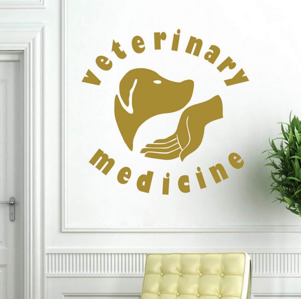 Servicios Veterinarios para mascotas Medicina Vinilo Pegatinas de ...
