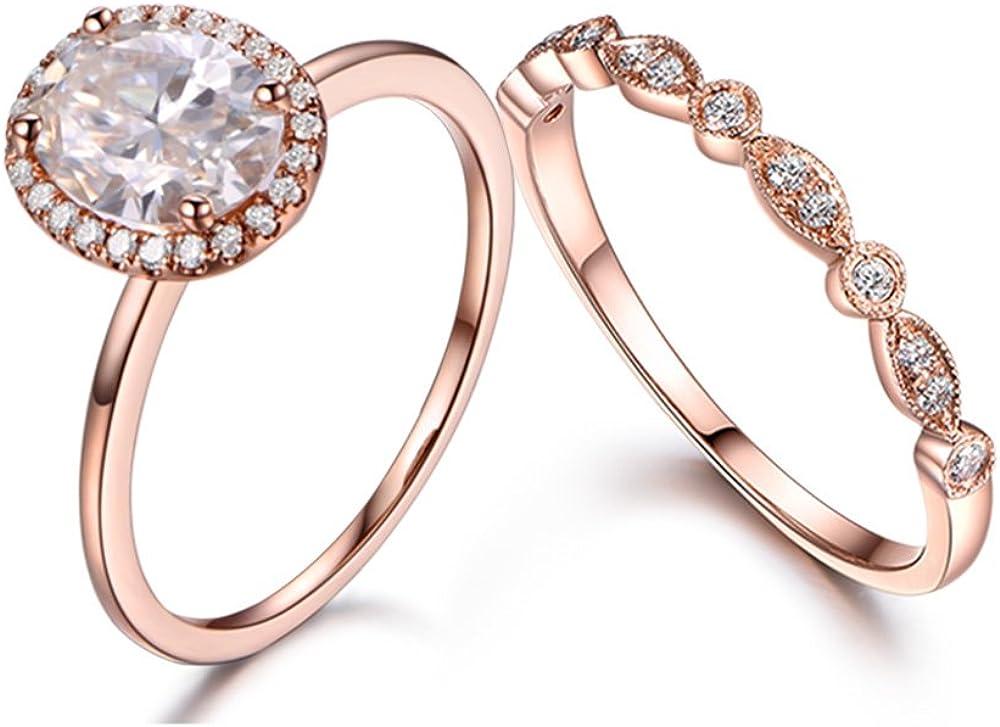 Milgrain Wedding Ring Band Art Deco Ring 6x8mm Bezel Set Oval Natural Opal Engagement Ring For Ladies Plain Gold Vintage Christmas Gift