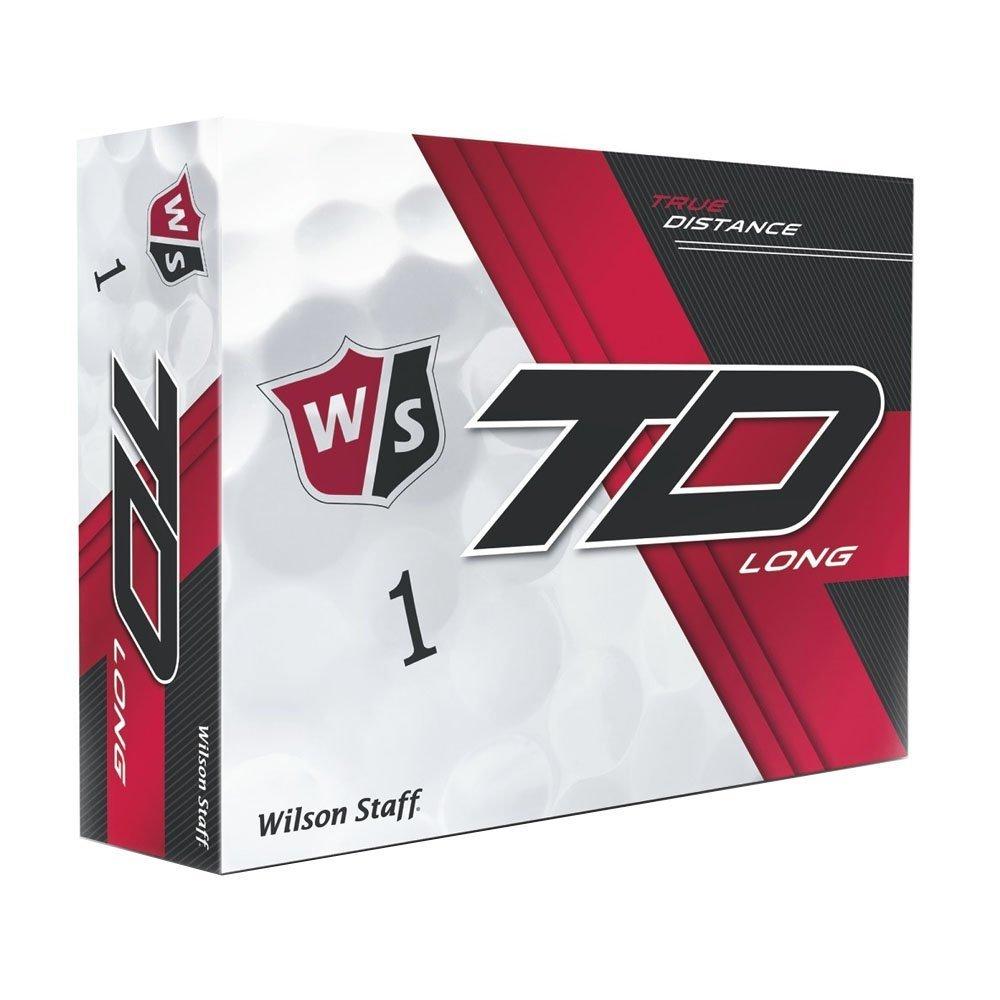 Wilson Staff True Distance Long White Golf Balls #1-#4 12-Ball Pack [並行輸入品] B072JRRYRZ