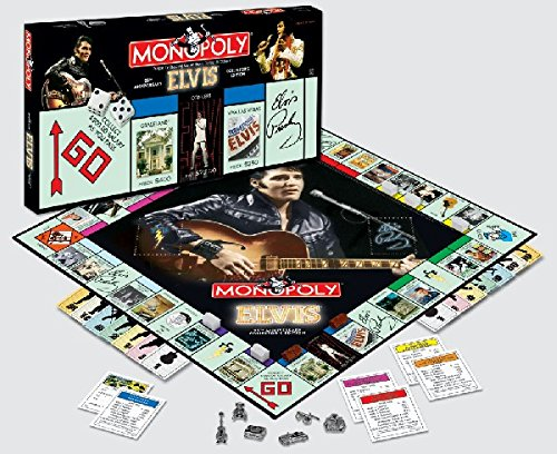 (Elvis 25th Anniversary Collector's Edition Monopoly)