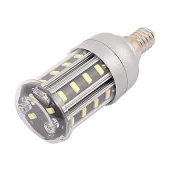 sourcingmap® AC85-265V 5W 28 x 5730E14 SMD LED Luz Lámpara de maíz blanco