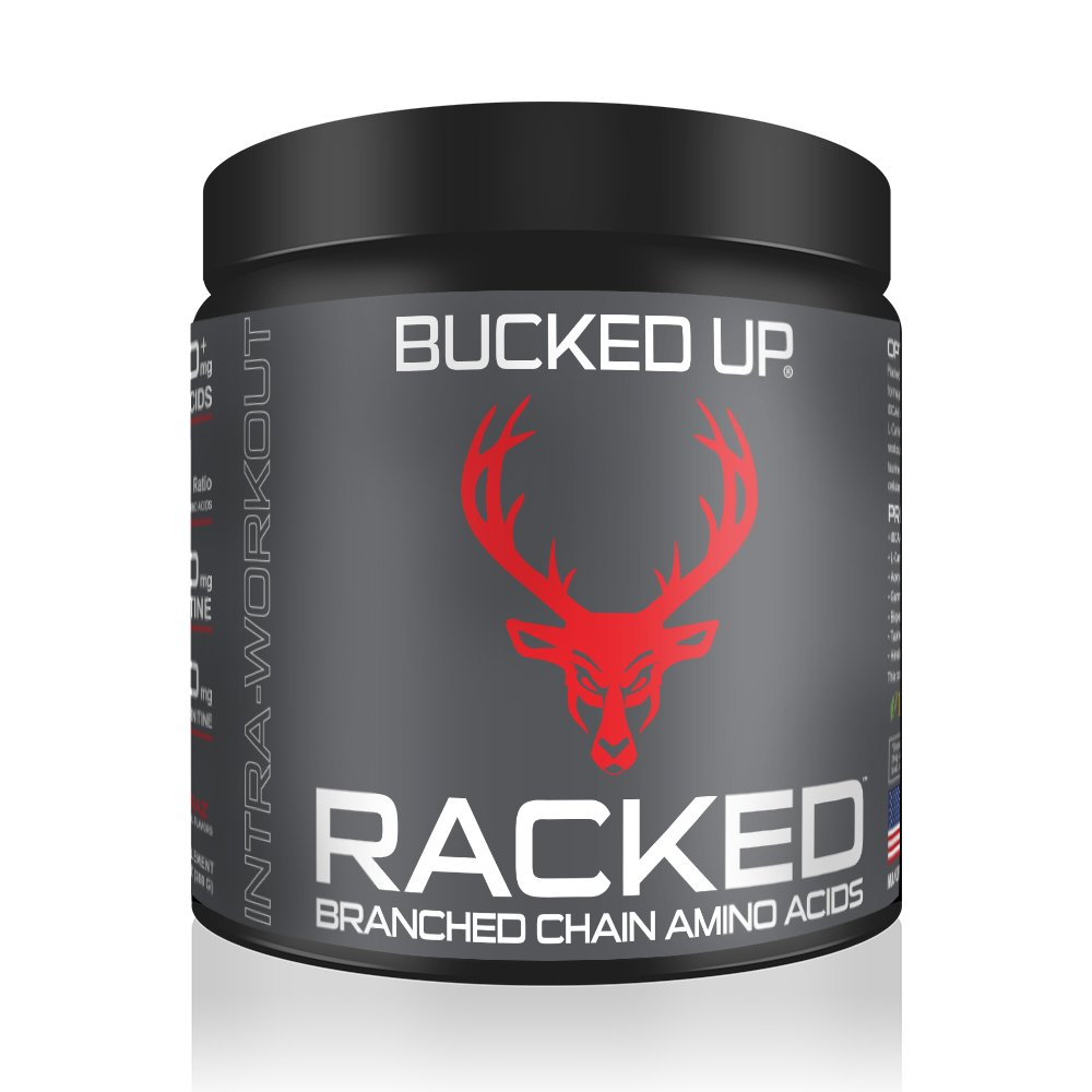 RACKED™ Branch Chained Amino Acids - Blood Raz Flavor -''BCAAs That You Can Feel!''