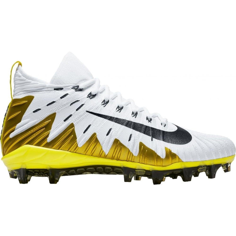 (ナイキ) Nike メンズ アメリカンフットボール シューズ靴 Alpha Menace Elite Football Cleats [並行輸入品] B07C7SPJTH 11.5-Medium