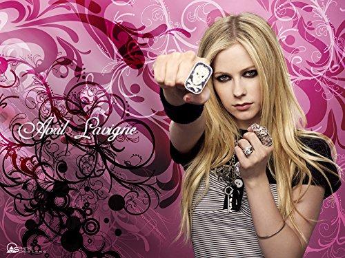 Avril Lavigne Canada Star poster Silk Wall print Home Deco