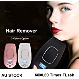Portable Laser IPL Machine Total Body Legs Hair Removal Device Skin Rejuvenation Device Laser Hair Remover for Face, Body, Bikini or Lip Use at Home (White)