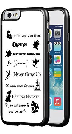 Amazoncom Walt Disney Quotes Hard Phone Case For Iphone 6 Plus