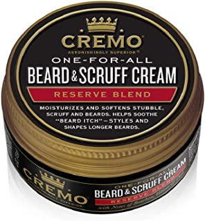 product image for Cremo Beard and Scruff Cream Reserve Collectoin - Distillers Blend, 4 Ounce