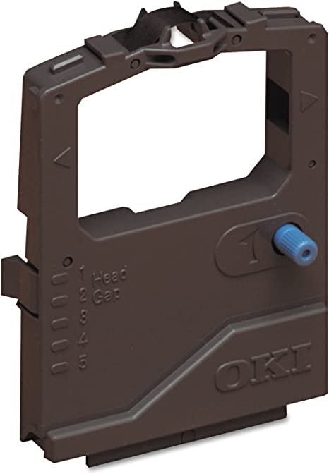 OKI 42377801 Microline 400 420 421 490 491 Printers Ribbon Cartridge (Black)