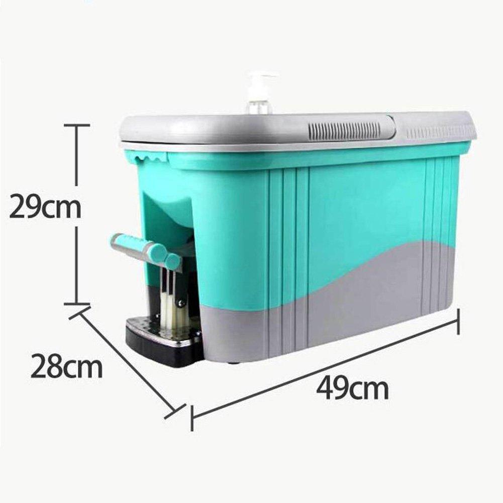 360 Vadrouille Degrés And Set Mop Extensible Bucket Spinning Manche N8wXOPnk0