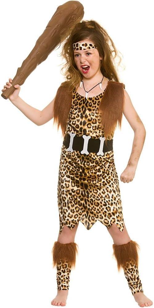 Brown Gonflable Homme Des Cavernes Club Fancy Dress Accessoires