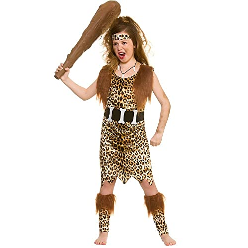 Stone Age Man Costume For Boys  Girls Size 140152 -4028