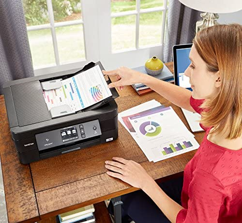 Brother Wireless All-In-One Inkjet Printer, MFC-J895DW, Multi-Function Color Printer, Duplex Printing, NFC One Touch to Connect Mobile Printing, Amazon Dash Replenishment Enabled 6137kKCFHYL