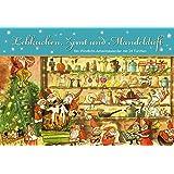Lebkuchen, Zimt und Mandelduft: Ein Windlicht-Adventskalender mit 24 Türchen