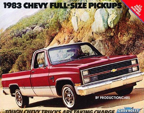 1983 Chevrolet Silverado Truck 16-page Sales Brochure Catalog