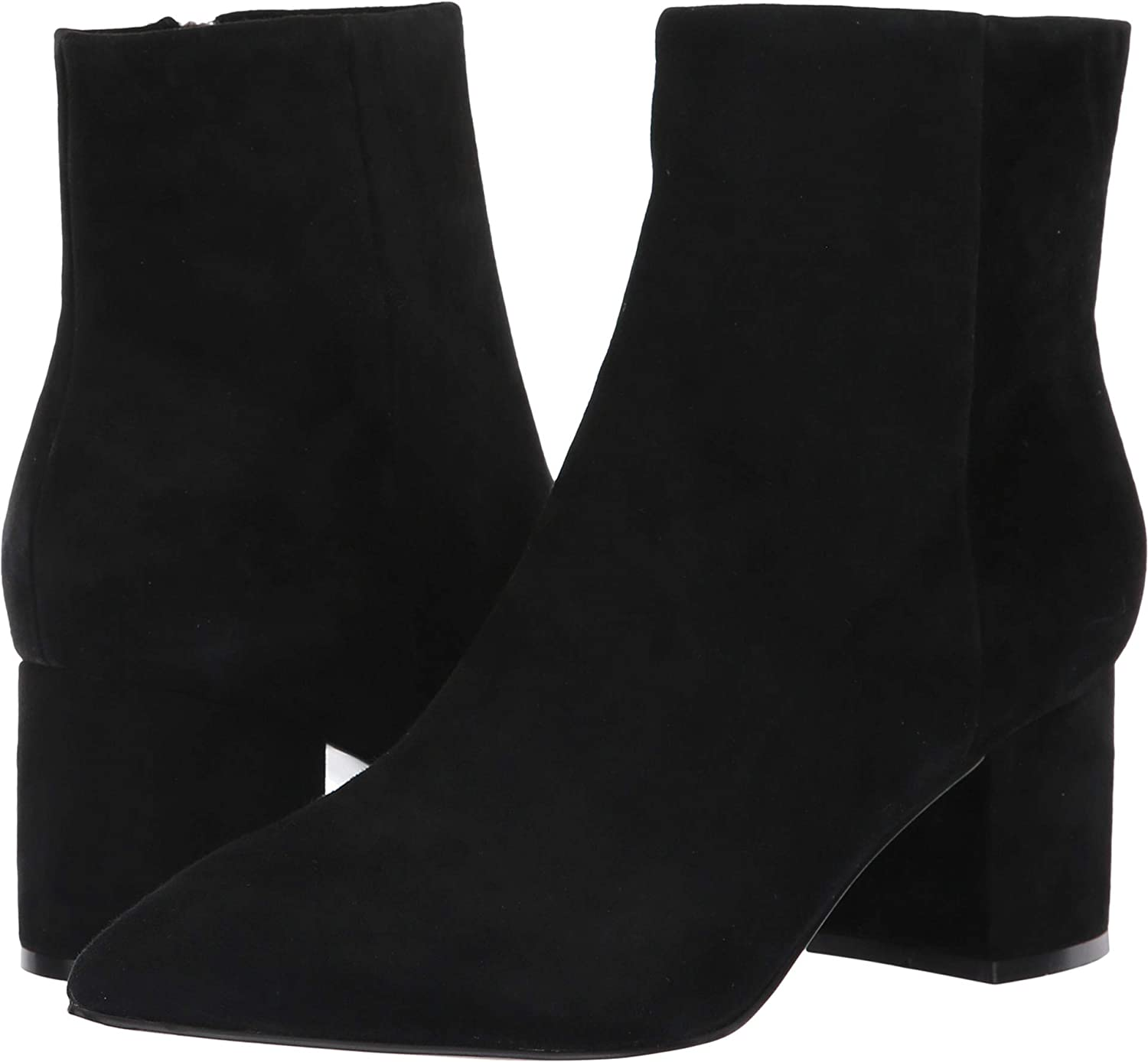Black Suede Marc Fisher LTD Womens Jarli