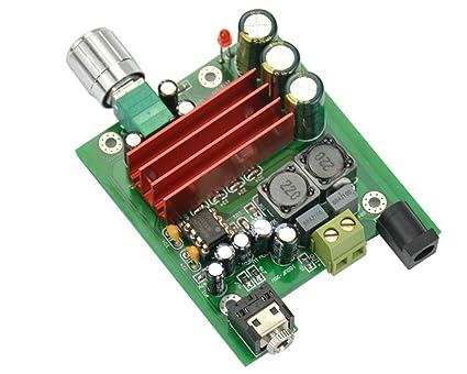 100W Subwoofer Amplifier Circuit Diagram | Amazon Com Aoshike 8 25v 100w Tpa3116 Subwoofer Digital Power