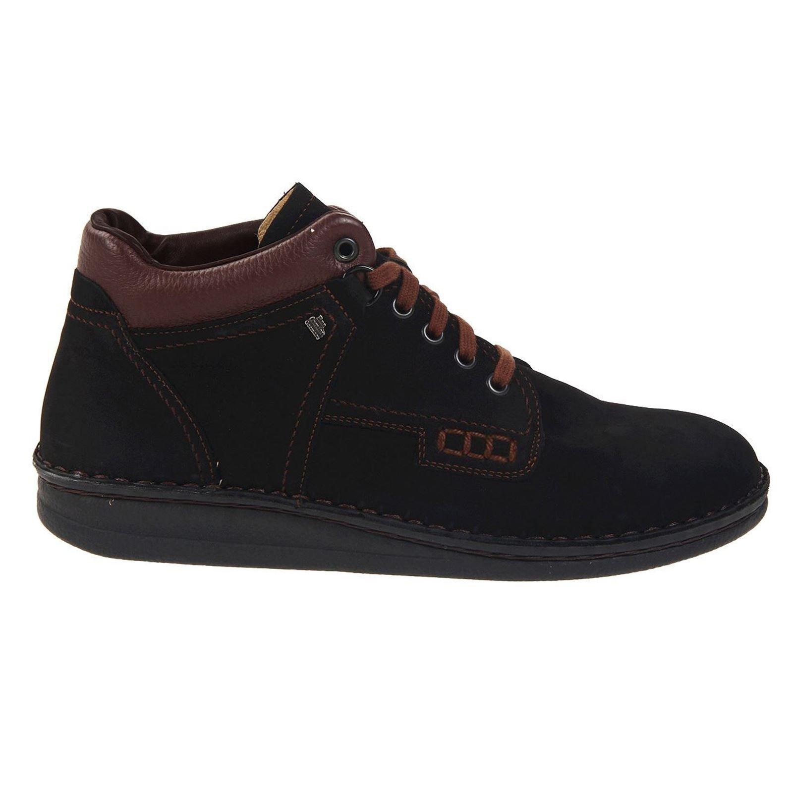 Finn Comfort Unisex Linz Boot,Black/Brown/Nevada,40 EU (US Men's 7 M/Women's 9 M) by Finn Comfort