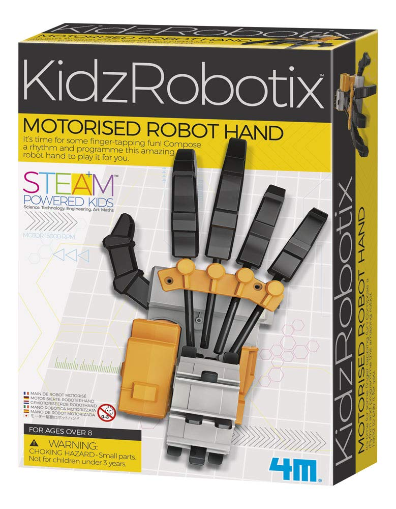 4M 4073 Kidzrobotix Motorized Robot Hand Kids Science Kit