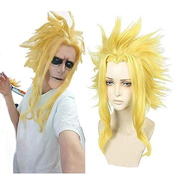 Synthetik Blond Anime Cosplay Perucken Konigreich Herzen Roxas