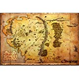 GB eye 61 x 91.5 cm the Hobbit Map Maxi Poster