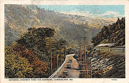 Cumberland, Maryland Postcard from Old Postcards
