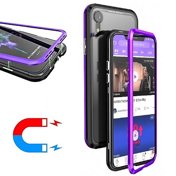 watch bd82c 20ffe Amazon.com: HIKERCLUB iPhone XR Case Magnetic Adsorption Phone Case ...