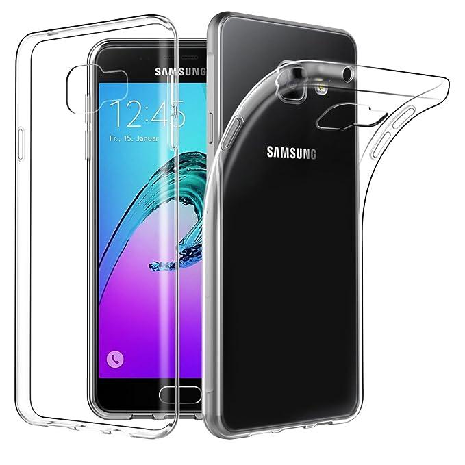 EasyAcc Hülle Case für Samsung Galaxy A3 2016, Dünn Crystal Clear Transparent Weich Handyhülle Cover Soft Premium-TPU Durchsi