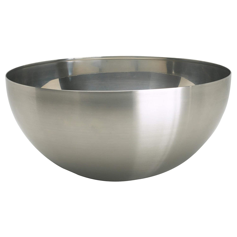 IKEA 500.572.54 Blanda Blank Serving Bowl, Stainless Steel