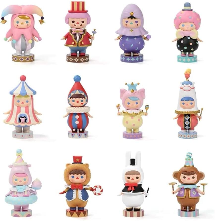 POP MART PUCKY Mini Figure Designer Toy Figurine Pool Babies Birthday Baby