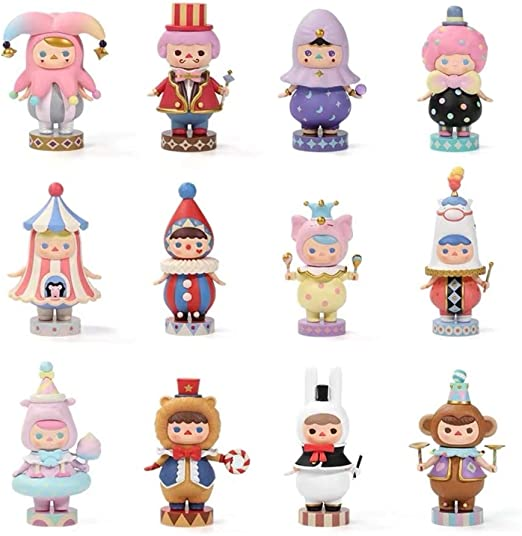 POP MART Pucky Space Babies Figure Cute Art Designer Toy Figurine Blind Box