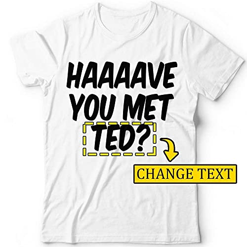 7a6e48ad48 Amazon.com: Have-You-Met-Ted Series Barney Haaaave T-shirt ...