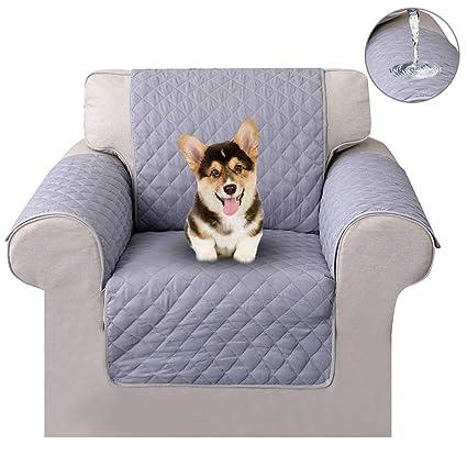 Funda Sofa\uffcAUOKER 1/2/ 3 plazas Cover para Mascotas Doble Cara Anti-Deslizante del Pongis Cubierta Protectora Sofá Apoyabrazos de Funda