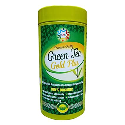 a401823949 Generic Kag Care Green Tea Gold Plus 100gm (Pack Of 3)  Amazon.in  Health    Personal Care